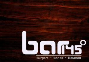 Bar 145. Burgers, Bands, & Bourbon.