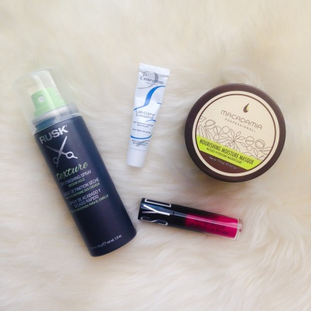 Sarah's March Birchbox Items