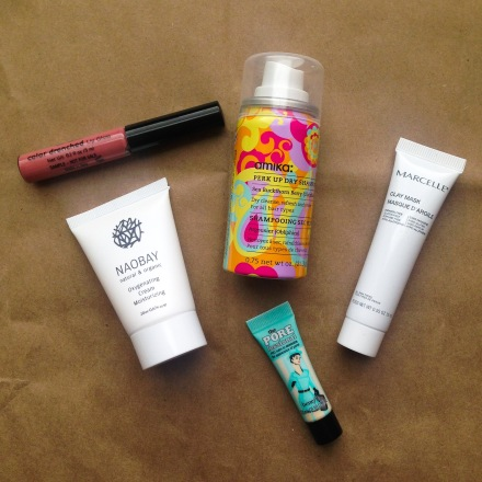 Sarah's May Birchbox Items
